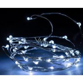 Emos Osvetlenie vianočné studená biela 40 LED 2 m