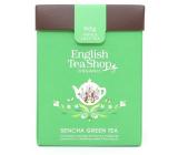 English Tea Shop Bio Zelený čaj Sencha sypaný 80 g + drevená odmerka so sponou