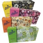 Linteo Satin papierové vreckovky dvojvrstvové krabička 100 kusov