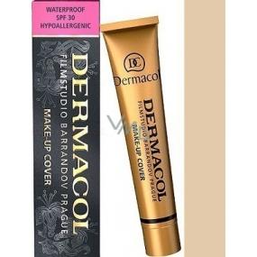 Dermacol Cover make-up 209 voděodolný pro jasnou a sjednocenou pleť 30 g