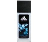 Adidas Ice Dive parfumovaný deodorant sklo pre mužov 75 ml