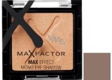 Max Factor Max Effect Mono Eye Shadow oční stíny 03 Metalic Brown 3 g