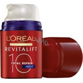 Loreal Paris Revitalift Total Repair 10 nočné multi-regeneranční krém 50 ml