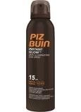 Piz Buin Instant Glow SPF15 rozjasňujúci sprej na opaľovanie s okamžitým žiarivým efektom 150 ml