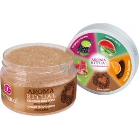 Dermacol Aroma Ritual Írska káva Opojný telový peeling 200 g
