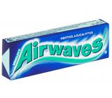Wrigleys Airwaves mentol & Eucalyptus žuvačka dražé 10 kusov, 14 g