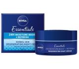 Nivea Essentials zvláčňujúci nočný krém pre normálnu až zmiešanú pleť 50 ml