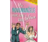 Nekupto Stírací přání k svatbě Pro novomanžele G 21 3341 21,5 x 13,5 cm