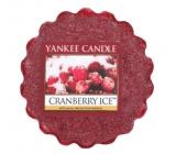 Yankee Candle Cranberry Ice - Brusnice na ľade vonný vosk do aromalampy 22 g