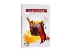 Admit Mulled Wine - Varené víno čajová aromatická sviečka 6 kusov doba horenia 4 hodiny