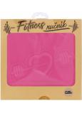 Albi Fitness uterák Srdce ružový 90 x 50 cm