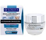 Soraya Hyaluronic Micro-Injection 70+ obnovujúci krém s transdermálnej kyselinou hyalurónovou na deň / noc 50 ml