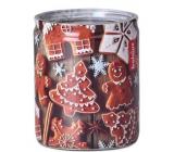 Bolsius Vianočné medovníčky vonná sviečka v skle 68 x 80 cm, doba horenia 23 hodín