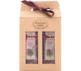 Bohemia Gifts & Cosmetics Lavender sprchový gel 250 ml + Vlasový šamon 250 ml, kosmetická sada