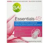 Garnier Skin Naturals Essentials 45+ noční krém proti vráskám 50 ml