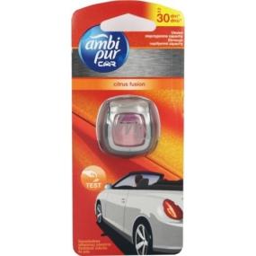 Ambi Pur Car Citrus Fusion osviežovač vzduchu do auta 2 ml