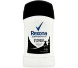 Rexona Motionsense Invisible Black + White antiperspirant dezodorant stick pre ženy 50 ml
