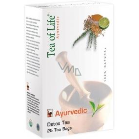 Tea of Life Detox Tea ajurvédský bio detoxikační čaj 25 x 2 g