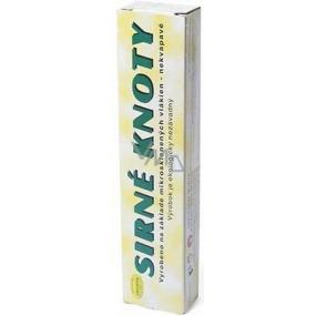Sírne knôty na dezinfekciu nádob, pivníc 0,2 kg