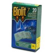 Biolit Polštářky do elektrického odpuzovače komárů náplň 20 kusů