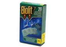Biolit Vankúšiky do elektrického odpudzovače komárov náplň 20 kusov