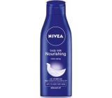 Nivea Body Milk výživné telové mlieko pre veľmi suchú pokožku 250 ml