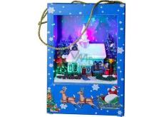 Star Trading Dekoratívne taška LED 22 x 15 cm