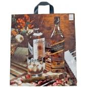 Press Igelitová taška 43 x 47 cm Whisky 1 kus