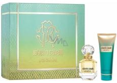 Roberto Cavalli Paradiso parfémovaná voda pro ženy 50 ml + tělové mléko 75 ml, dárková sada