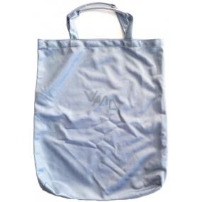 Taška nákupná Pretty modrošedá s bužírkou 40 x 33,5 x 3 cm 9936