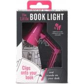 If Miniretro svetlo na knihu ružové