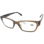 Berkeley Čítacie dioptrické okuliare +1,0 plast hnedé, stranice tigrované 1 kus ER4198