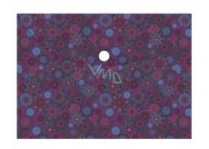 Albi Original Puzdro na dokumenty Kvety fialové A4 - 210 x 297 mm