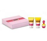 Missoni Eau de Parfum toaletná voda pre ženy 5 ml + sprchový gél 25 ml + telové mlieko 25 ml, darčeková sada