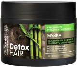 Dr. Santé Detox Hair maska s aktívnym uhlím z bambusu pre intenzívnu regeneráciu vyčerpaných vlasov 300 ml