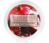 Heart & Home Granátové jablko Sójový prírodný voňavý vosk 26 g