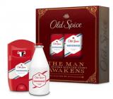 Old Spice White Water Vintage antiperspirant dezodorant stick 50 ml + voda po holení 100 ml, kozmetická kazeta pre mužov