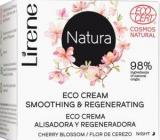 Lirene Natura vyhladzujúci nočný krém ECO Cert 50 ml