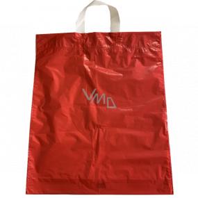 Taška igelitová červená s uchom 36 x 45 cm