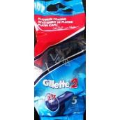 Gillette 2 pohotová jednorazová holítka 5 kusov v sáčku