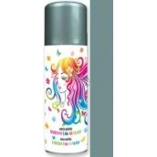 Anjel zmývateľné farebný lak na vlasy strieborný 125 ml