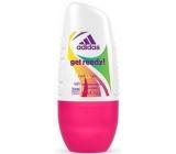 Adidas Cool & Care 48h Get Ready! kuličkový antiperspirant deodorant roll-on pro ženy 50 ml