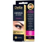 Delia Henna Tint gél na zafarbenie obočie 1.0 čierna 1 kus