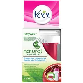 Veet Easy Wax Natural Inspirations vosková náplň do elektrického setu pro citlivou pokožku 50 ml