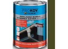 Colorlak Synorex Extra S 2003 syntetická antikorózna farba na železo a kovy Močiar 0,6 l