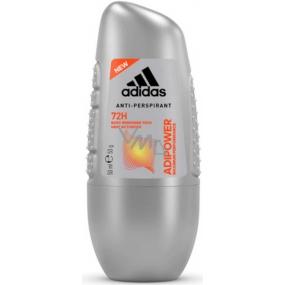Adidas Adipower 72h kuličkový antiperspirant deodorant roll-on pro muže 50 ml