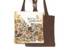 Nekupto Buď Jedinečná nákupní taška Ptáček