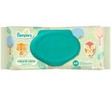 Pampers Natural Clean s heřmánkem vlhčené ubrousky pro velmi citlivou pokožku pro děti 64 ks ,neparfémované