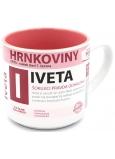 Nekupto Hrnkoviny Hrnček s menom Iveta 0,4 litra