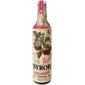 Kitl Syrob Bio Malinový s dužinou sirup pre domáce limonády 500 ml